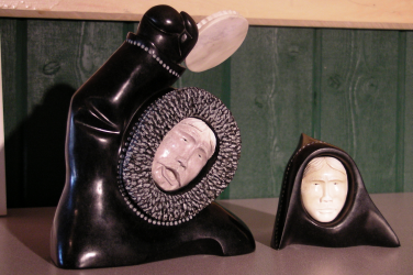Carvings by Shawn Rumbolt - Grenfell Gift Shop - St. Anthony, Newfoundland