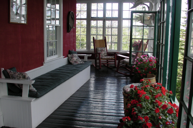 Grenfell Historic House - Sun Porch - St. Anthony, Newfoundland