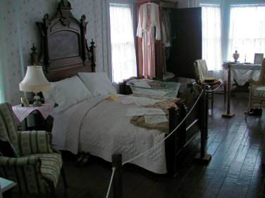 Grenfell Historic House - Master Bedroom - St. Anthony, Newfoundland